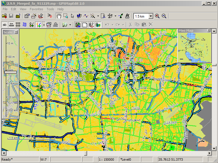 GpsMapEdit (GME), Strong Mapping Software for Beginners and