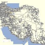 نقشه ایران ویرایش 2014