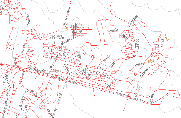Tehran Garmin Map 2007