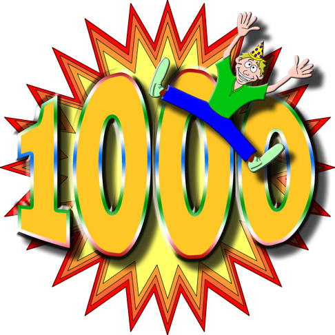 1000 daily visitors