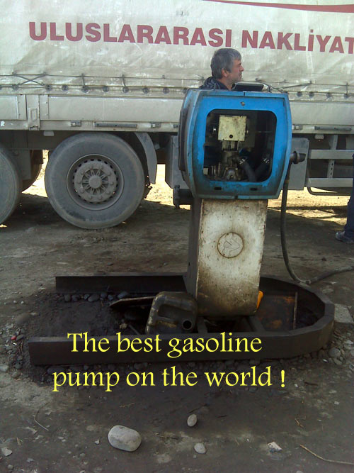 The beat Gasoline pump on the world