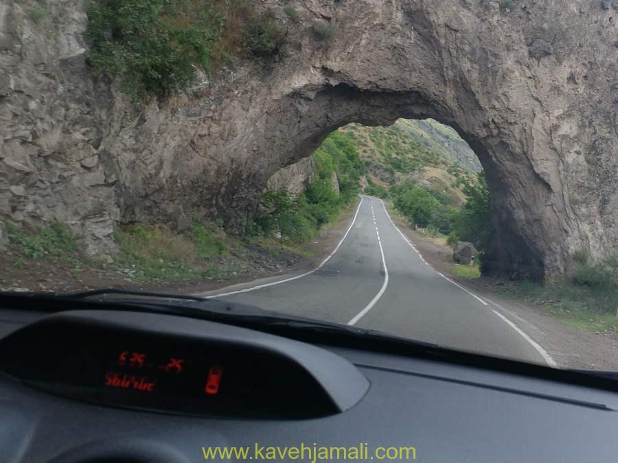 جاده های ارمنستان